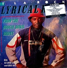 Виниловая пластинка T La Rock - Lyrical King (From The Boogie Down Bronx) /US-Ca/