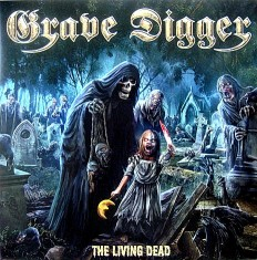 Grave Digger - The Living Dead /EU/Limited Edition, Silver,