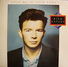Виниловая пластинка Rick Astley - Hold me in yor arms /G/