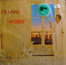Виниловая пластинка F.R.David - Words /G/