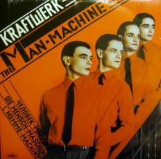 Виниловая пластинка Kraftwerk - Man-machine /US/