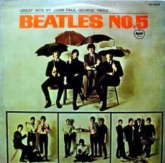Beatles - Beatles No. 5 /Jaap/ mono