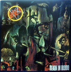 Виниловая пластинка Slayer - Reign in blood /En/ 1 press