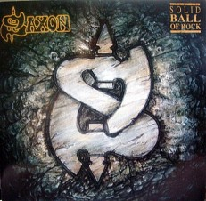 Виниловая пластинка Saxon - Solid Ball of rock /G/