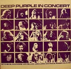 Deep Purple - Deep Purple in concert /NL/ 2LP insert