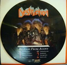 Виниловая пластинка Destruction - Release from agony G/
