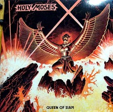 """Holy Moses - Queen of siam /G/7"""", 45 RPM, Single Sided, EP"""