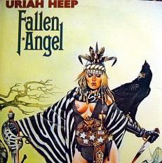 Виниловая пластинка Uriah Heep - Fallen angel /US/