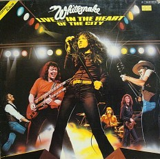 Whitesnake - Live in the heart.../G/ 2Lp