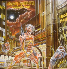 Iron Maiden - Somewhere in time /NL/ +insert