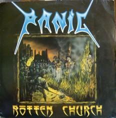 Виниловая пластинка Panic - Rotten church /BR/ RARE!!!