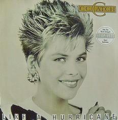 Виниловая пластинка C.C.Catch - Like a hurricane /G/