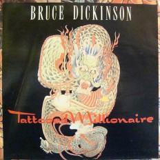 Виниловая пластинка Bruce Dickinson - Tattooed millionaire/GB/big poster