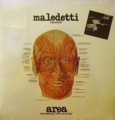 Виниловая пластинка AREA - Maledetti /EU/