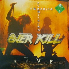 Виниловая пластинка Over kill - Live /limited edition 441/500/UK/