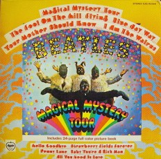 Виниловая пластинка Beatles - Magical mistery tour /Jap/