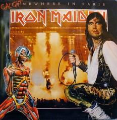 Виниловая пластинка Iron Maiden - Somewhere in Paris Limited ed. 22/500,GF.Бутлег.