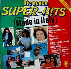 Виниловая пластинка Super -Hits - Made in Italy /G/