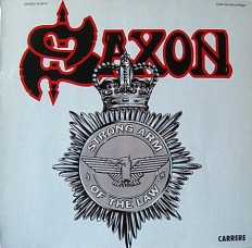Виниловая пластинка Saxon - Strong arm of the low /G/