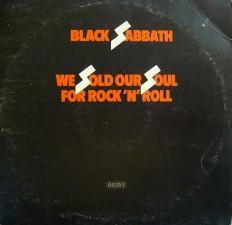 Виниловая пластинка Black Sabbath - We sold our  soul for rock n roll /En/ 2LP