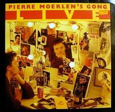 "Виниловая пластинка Pierre Moerlen""s Gong - LIVE /G/"
