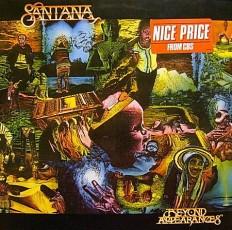 Виниловая пластинка Santana - Beyond appearances /NL/