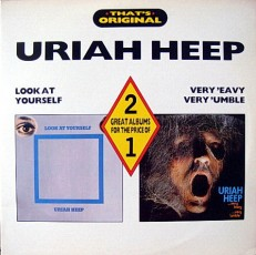 Uriah Heep - Look at yourself/Very evy... /En/ 2LP