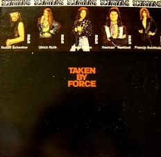 Виниловая пластинка Scorpions - Taken by force
