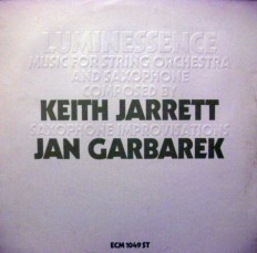 Виниловая пластинка Keith Jarreth- Jan Garbarek - Music for strin and saxophone /G/