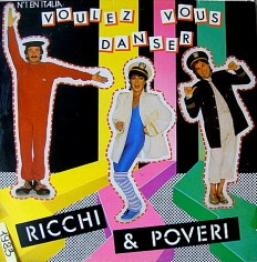 Виниловая пластинка Ricci & Poveri - Volez vous dancer /Sp/