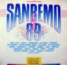 SanRemo 89 - SanRemo 89 /It/ 2lp