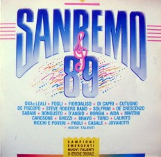 Виниловая пластинка SanRemo 89 - SanRemo 89 /It/ 2lp