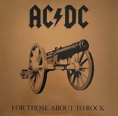 Виниловая пластинка AC/DC - For those about to rock /EU/