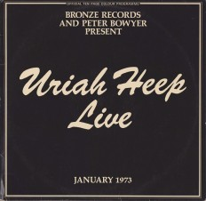 Виниловая пластинка Uriah Heep - Live! 2LP /G/ +insert