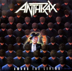 Anthrax - Among The Living /G/ insert
