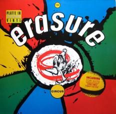 Erasure - The Circus /G/ insert